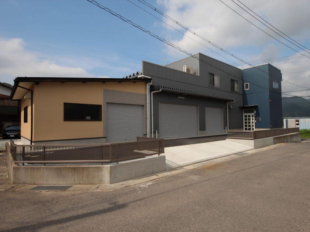なかしま様事務所・倉庫新築工事