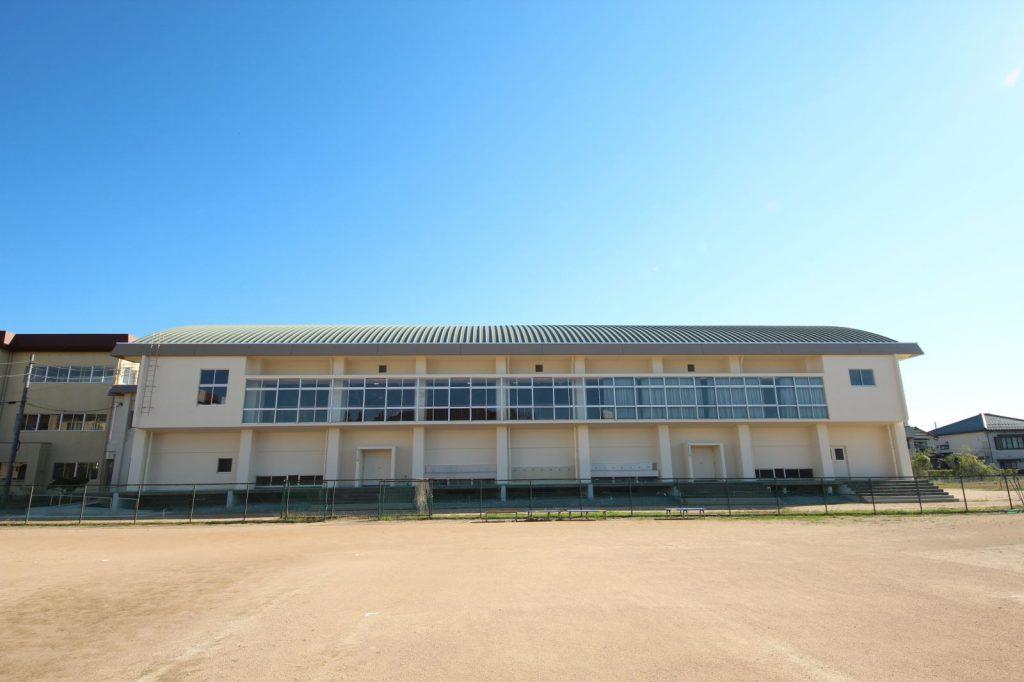 豊岡南中学校屋内運動場外1棟耐震補強・改修建築工事