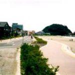 竹野海岸護岸工事