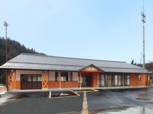 竹野南地区公民館整備建築工事