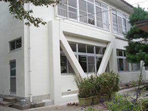 竹野小学校管理棟 耐震補強・改修工事